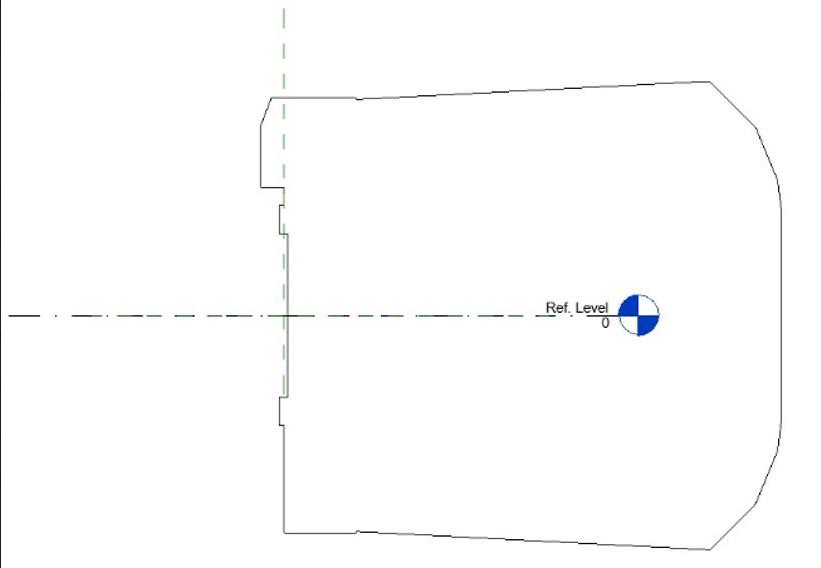 Výsledný model přesně kopíruje sklon definovaný osou kolejí a pravé kolejnice.