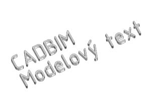 Modelový text